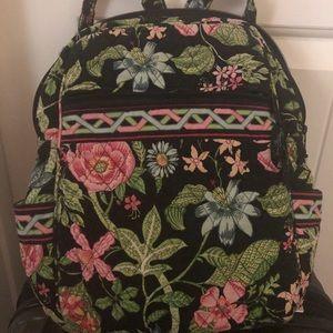 Vera Bradley Botanica print backpack/small laptop